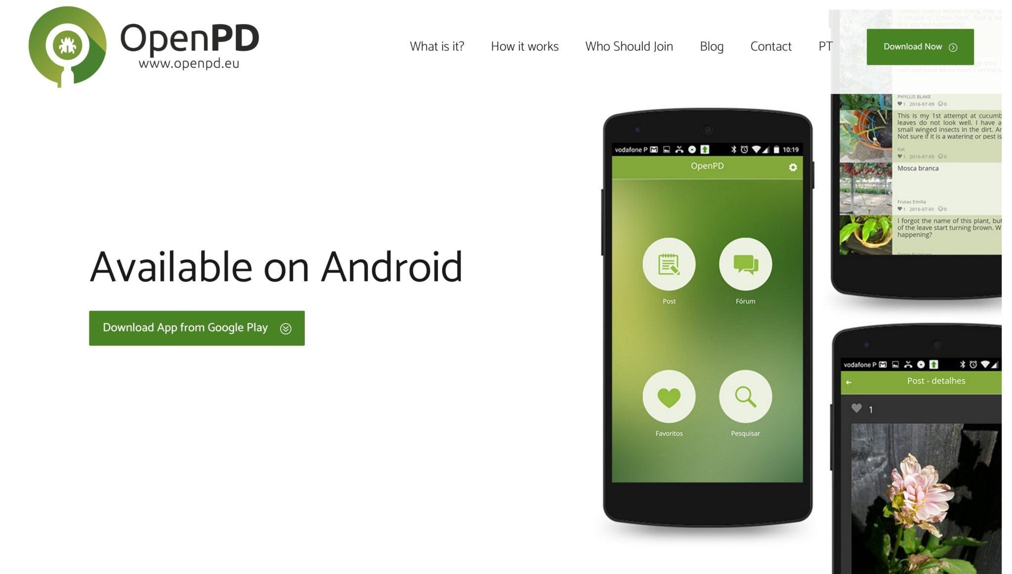 OpenPd website