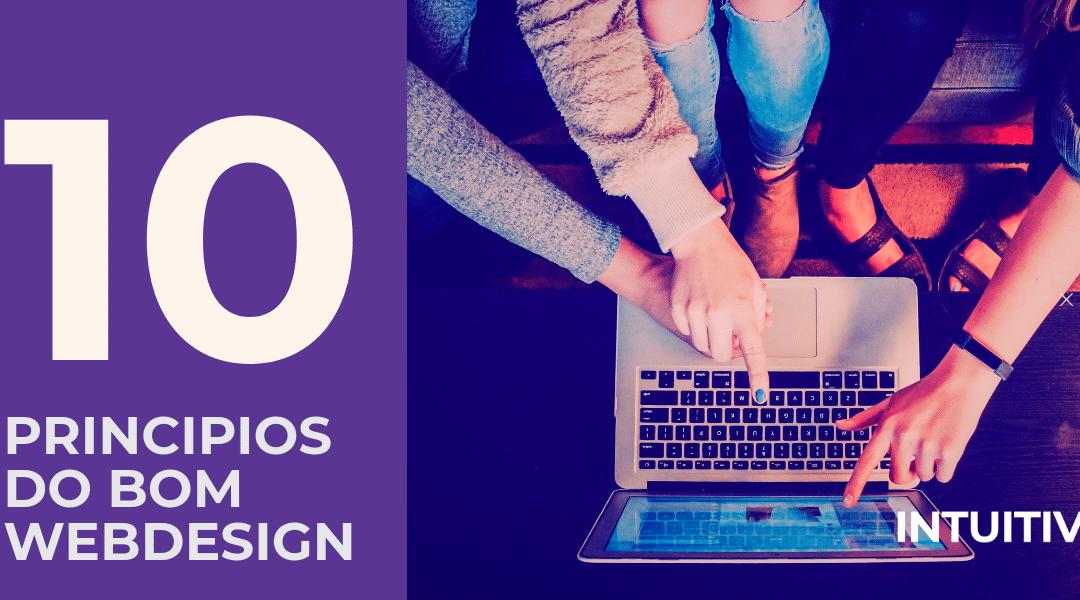10 princípios do bom web design