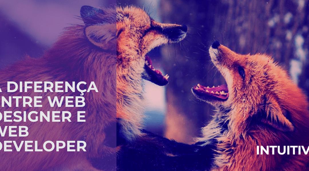 Web Designer ou Web Developer – qual a diferença?
